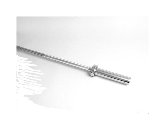 """Olympic Power Bar 84"""" 1500lb Chrome - Click for larger picture"""
