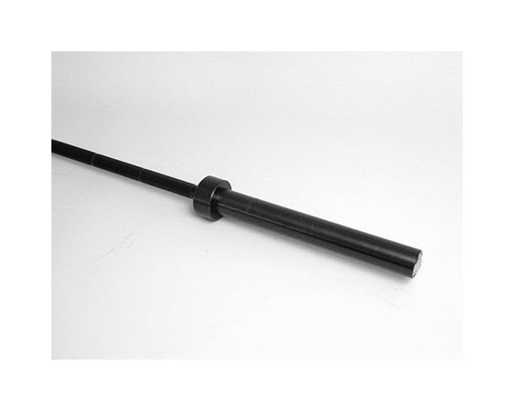 """Olympic Bar, Straight, 60"""" Black - Click for larger picture"""