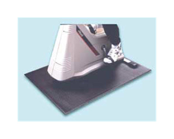 """Floor Mat, Cardio Equipment, 3'x4'x1/4"""" - Click for larger picture"""
