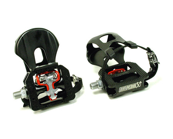 """Durapedal X-Treme, Cage/Spd (9/16"""") - Click for larger picture"""